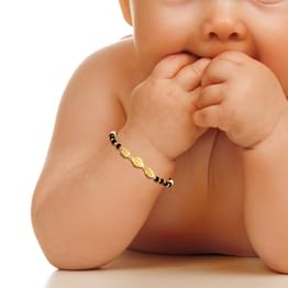 Trio Bead Infant Bracelet