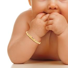 U Linked Infant Bracelet