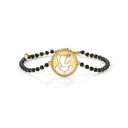 Ganesha Cutout Infant Bracelet