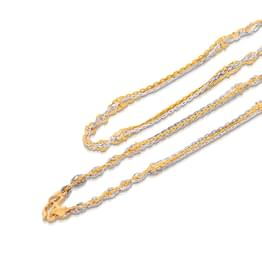 Entwine Cable Gold Chain