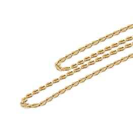 Cutout Link Gold Chain