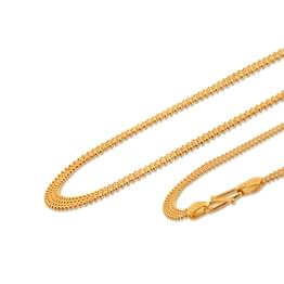 Four Strand Ball Gold Chain