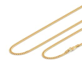 Modish Interlinked Gold Chain